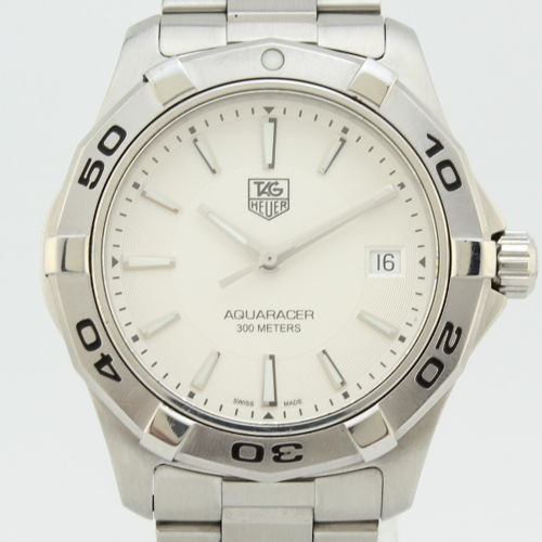 918c27979a1 TAG Heuer Mens Aquaracer 300M Steel for sale for $780 | Chronoexpert