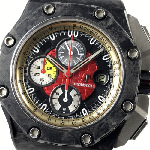 Audemars Piguet Mens Royal Oak Offshore Royal Oak Offshore Carbon