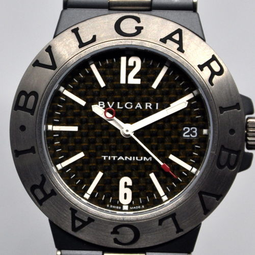 baf44aca4f8 Bvlgari Mens Diagono Titanium for sale for  2