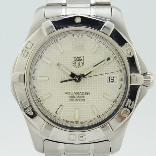 656a336f31a TAG Heuer Mens Aquaracer 300M Steel for sale for $1,640 | Chronoexpert